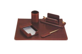 DESK SET SYNTHETIC LEATHER